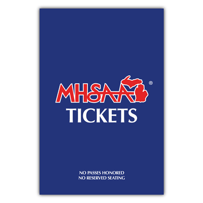 Ticket Sign for Mini Mightee Sign Holder Base