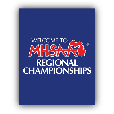 Styrene Sign - Welcome Regional Champs (Set of 2)