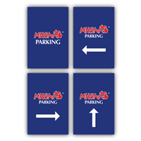 Styrene Sign - Parking Individual Signs