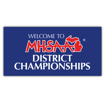 Mesh - MHSAA District 3' x 6'