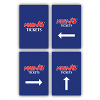 Styrene Sign - Tickets - Individual Signs