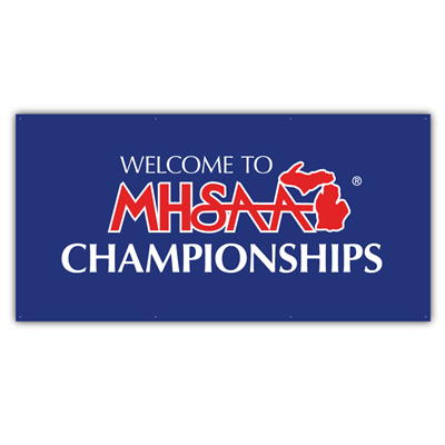 Fence Jersey - MHSAA Championships 3' x 6'